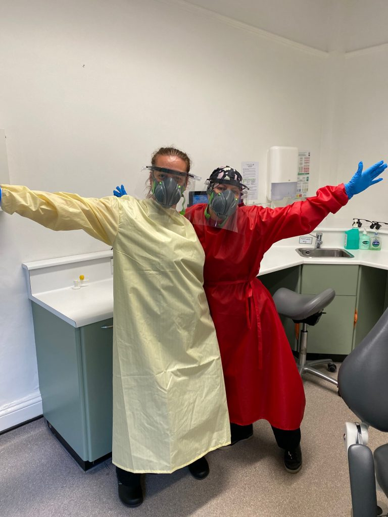 COVID-19 PPE for our Dental Team