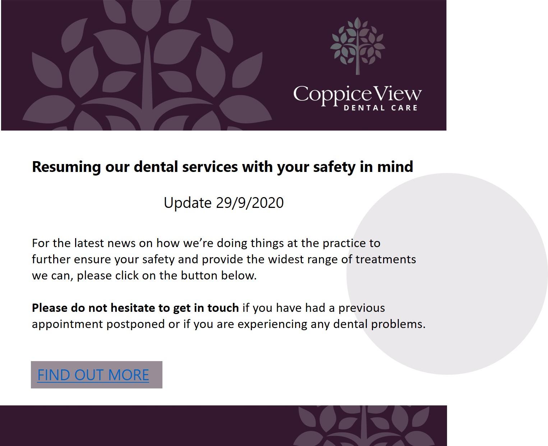 Coppice View Dentist Harrogate